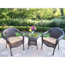 Bistro Set Bar Height Outdoor by Patio Ideas Home Depot 4 Piece Patio Set 3 Piece Bar Height