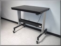 Adjustable Height Computer Desk Workstation by Adjustable Height Microscope Tables At Rdm Equipment Lift Tables