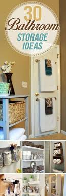 clever bathroom storage ideas hide unsightly toilet items with this diy side vanity storage unit