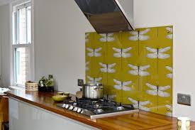 wallpaper backsplash kitchen roundup the wallpaper backsplash apartment therapy