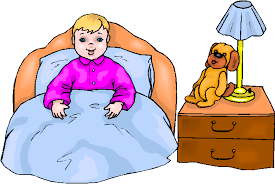 Go To Bed In French Clipart Sleeping In Bed Dromgbh Top Clipartix