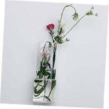 Hanging Glass Wall Vase Siyaglass Pack Of 4 Crystal Glass Wall Hanging Flower Vase Planter