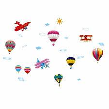 aliexpress com buy cartoon wall sticky hydrogen balloon plan