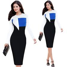 wholesale fashion 2015 autumn casual elegant women dresses office