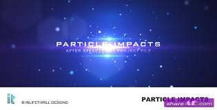 after effects free text templates particle impacts after effect project videohive free after
