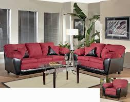 Sofa And Loveseat Sets Burgundy Fabric And Bicast Modern Sofa U0026 Loveseat Set W Options