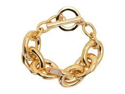 chain link bracelet gold images J crew classic pav link bracelet jpg