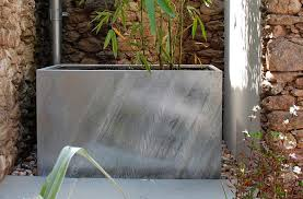 Galvanized Trough Planter by Dipped Galvanised Steel Planters Plant Pots U0026 Containers