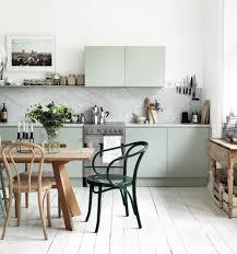 pale green kitchens