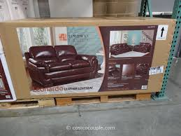 Costco Leather Dining Chairs Costco Leather Sofa Roselawnlutheran