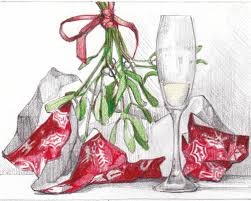 how to draw a christmas still life tutorials pinterest how
