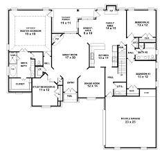 small 4 bedroom floor plans decoration 4 bedroom house plans 1 story two bath floor plan simple
