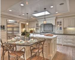 Kitchen Island With Table Seating Kitchen Island With Seating Table Combination White