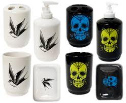 Skull Bathroom Accessories by Skull Pajamas Sin In Linen