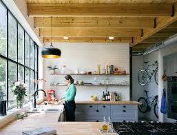 cuisine grange un loft dans une ancienne grange non une maison