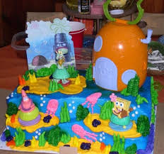 spongebob squarepants cake spongebob squarepants cake by enlightenup23 on deviantart