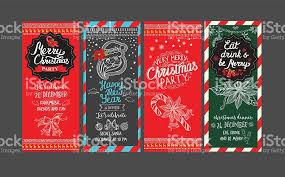 happy new year party invitation restaurant christmas food menu