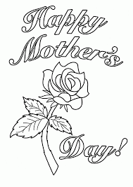 card for mother u0027s day coloring page for kids coloring pages