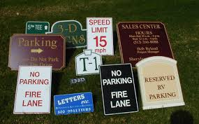letters etc routed signs