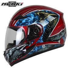 Cool Rebel Flags Nenki Motorcycle Helmet Motorcycle Cool Blue Full Face Riding