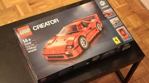 lego ferrari f40 lego ferrari f40 2016 hands on review by car magazine