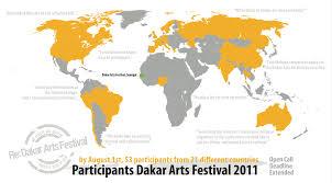 Dakar Senegal Map Re Dakar Arts Festival U2013 Kairus Org U2013 Linda Kronman U0026 Andreas