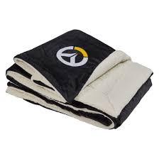overwatch throw blanket blizzard gear store