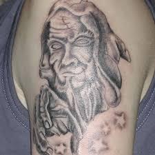 basic wizard tattoo wizard body tattoo on tattoochief com