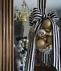 Christmas Decorations White And Gold by