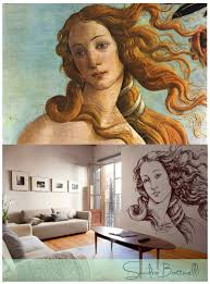 top 10 art inspired pixers products birth of venus pixers wall mural