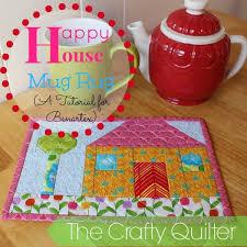 Quilted Mug Rug Pattern 22 Adorable Free Mug Rug Patterns Jacquelynne Steves