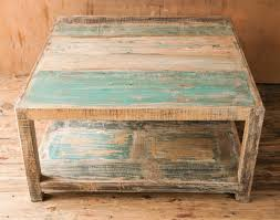 coffee table glamorous white distressed coffee table ideas