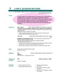 Example Of A Nursing Resume by Sample Objective Resume For Nursing Http Www Resumecareer Info