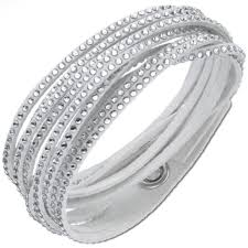 swarovski bracelet price images Swarovski grey slake wrap bracelet with crystal jpg