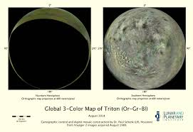 Map Of Equator U S Planetary Scientist Creates New Map Of Triton Space