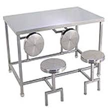 steel dining table set stainless steel dining table set ss dining table set suppliers delhi