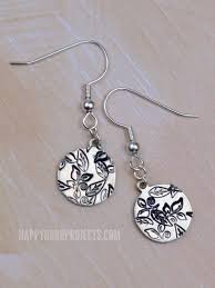 beginner earrings diy sted jewelry fall leaf earrings