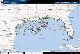 Map Gulf Of Mexico by Marine Operations Gulf Of Mexico Coastal Ocean Observing System
