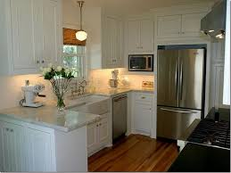 Small Kitchen With White Cabinets 5 Interesting Small Kitchen With White Cabinets Digital Picture