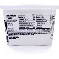 Nutrition Facts For Cottage Cheese by Great Value Low Fat Cottage Cheese 16 Oz Walmart Com