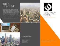 pamphlet template business brochure template brochure vectors