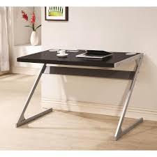sleek desk sleek modern z style black writing computer desk with bluetooth