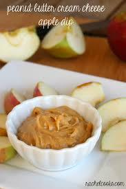 dips for thanksgiving peanut butter cream cheese apple dip rachel cooks