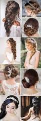 2017 new wedding hairstyles for brides and flower girls green