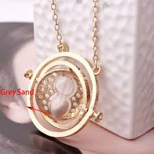 hermione necklace images Rotating spins time turner necklace hourglass hermione granger jpg