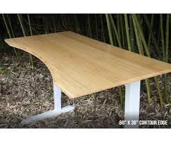 jarvis bamboo adjustable standing desk sustainable and reliable the bamboo jarvis desk is a beautiful and