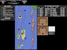 Ruby Map Pokemon Ruby Version Route 105 Map For Game Boy Advance By