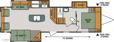 Sportsman Rv Floor Plans 2018 K Z Sportsmen 322ik For Sale Bay City Michigan Best