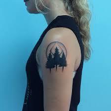 22 photos of mystical pine tree tattoos pine tree pine