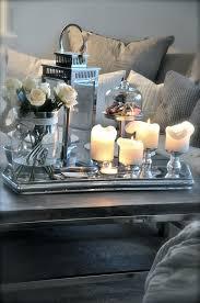 silver coffee table tray angolo living con calda atmosfera pinteres